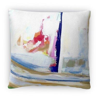 Splash of Fun Fleece Throw Pillow Size: 18 H x 18 W x 4 D