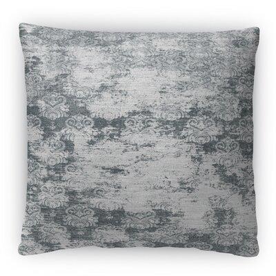 Milano Fleece Throw Pillow Color: Black, Size: 16 H x 16 W x 4 D