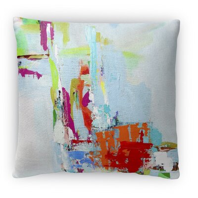 Tropical Tease Fleece Throw Pillow Size: 16 H x 16 W x 4 D