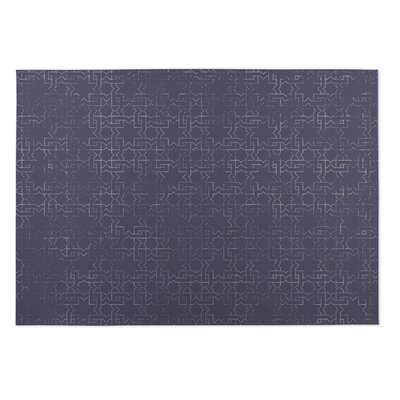 Beaten Path Lilac Indoor/Outdoor Doormat Rug Size: 5 x 7
