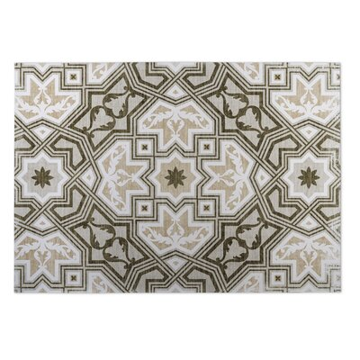 Rite Sand Indoor/Outdoor Doormat Rug Size: Square 8