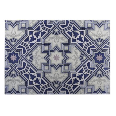 Rite Gray Indoor/Outdoor Doormat Rug Size: 4 x 5