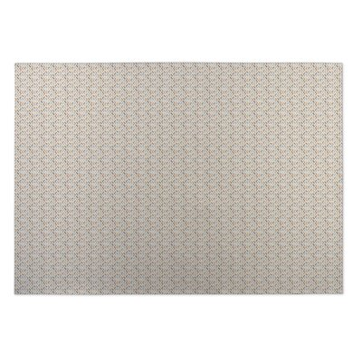 Beige Indoor/Outdoor Doormat Rug Size: Square 8