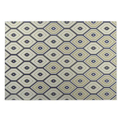 Sand Indoor/Outdoor Doormat Rug Size: 4 x 5