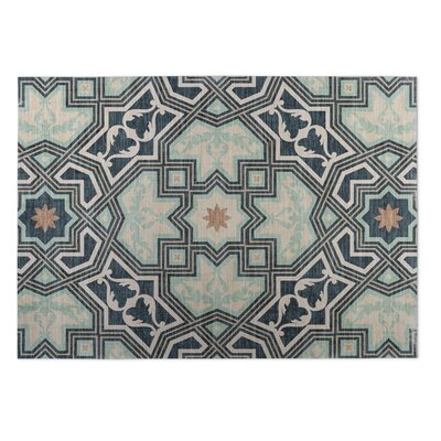 Rite Aqua Indoor/Outdoor Doormat Rug Size: 4 x 5