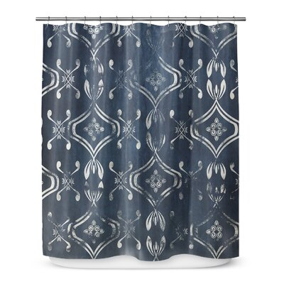 Underhill Blue Shower Curtain