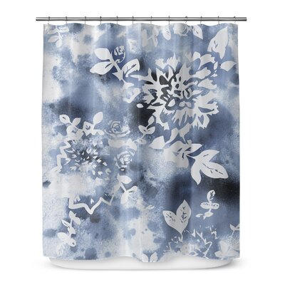 Arin Floral Rectangle Shower Curtain
