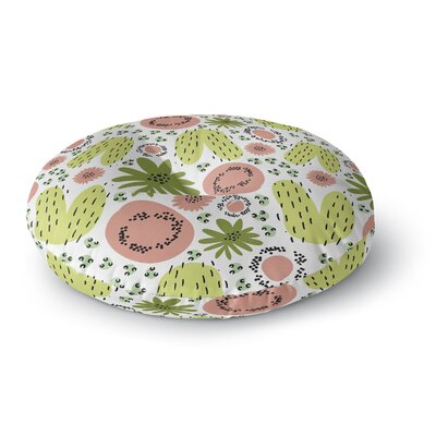 Fruit Salad Round Floor Pillow Size: 23 H x 23 W x 9.5 D