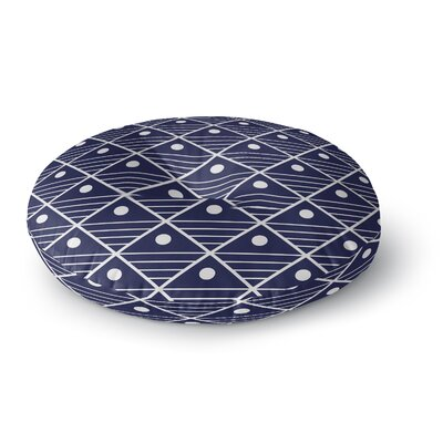 Moon Lake Round Floor Pillow Size: 26 H x 26 W x 12.5 D