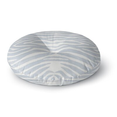 Nerbone Round Floor Pillow Color: Blue, Size: 26 H x 26 W x 12.5 D