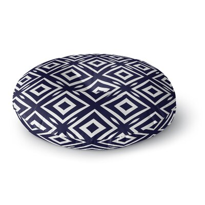 Square Peg Round Floor Pillow Size: 26 H x 26 W x 12.5 D