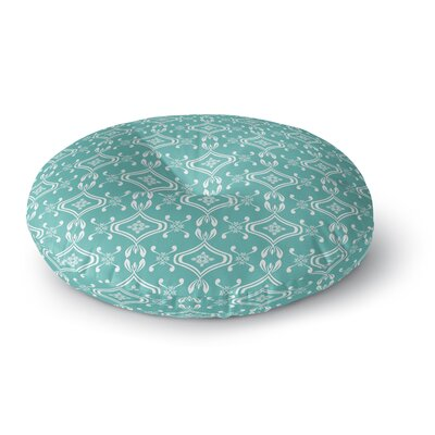 Beach Bingo Round Floor Pillow Size: 23 H x 23 W x 9.5 D