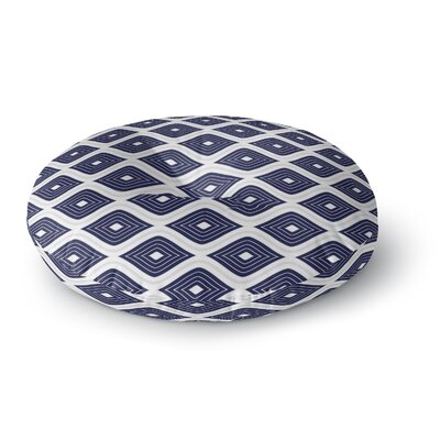 Ogee Inverted Round Floor Pillow Size: 26 H x 26 W x 12.5 D