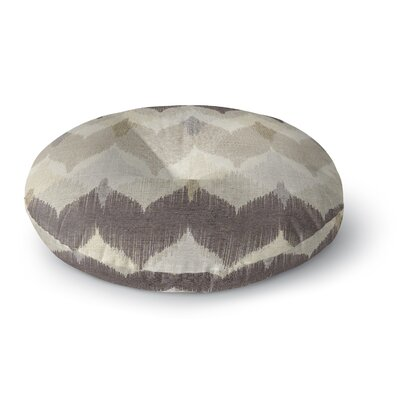Chevron Motion Round Floor Pillow Size: 23 H x 23 W x 9.5 D