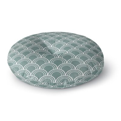 Loops Round Floor Pillow Size: 26 H x 26 W x 12.5 D