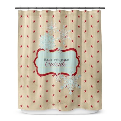 Baby Its Cold Outside 72 Shower Curtain