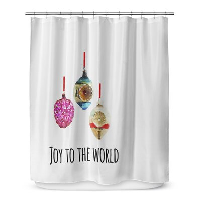 Joy to the World 72 Shower Curtain