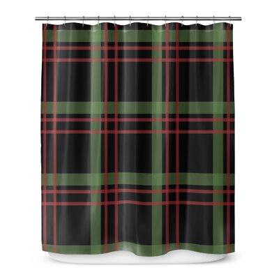Christmas Plaid 72 Shower Curtain