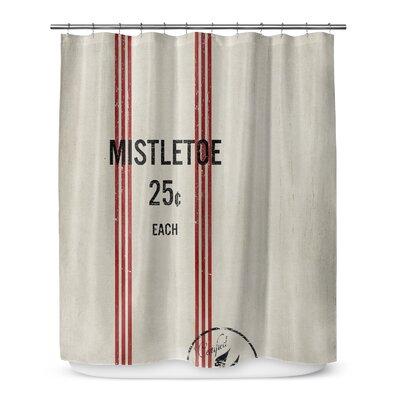 Mistletoe 72 Shower Curtain