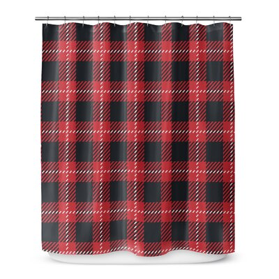 Christmas in Plaid 72 Shower Curtain