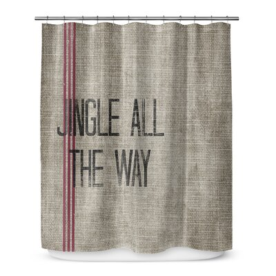 Jingle All the Way 72 Shower Curtain