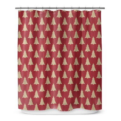 "Christmas Tree 72"" Shower Curtain SCT-SPLSC-70X72-TEL1041"