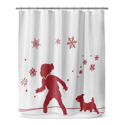 A Walk in the Snow 72 Shower Curtain