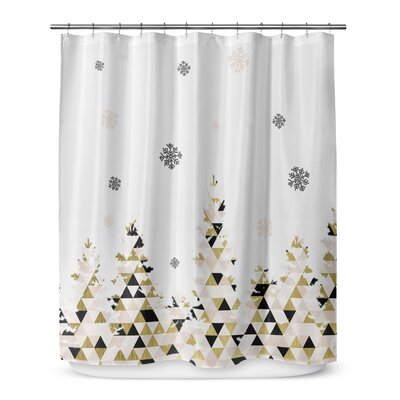 Christmas Snow 72 Shower Curtain