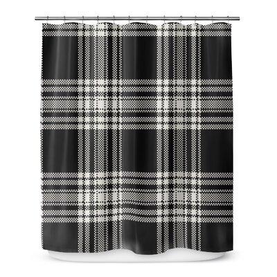 Plaid 72 Shower Curtain