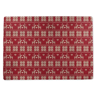 Christmas Love Doormat Rug Size: 3 x 5