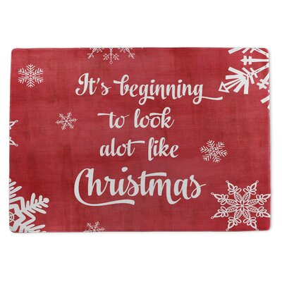 Looks a Lot Like Christmas Doormat Rug Size: 5 x 7
