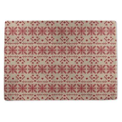 Christmas Doormat Rug Size: 5 x 7