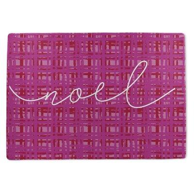 Noel Doormat Rug Size: 5 x 7