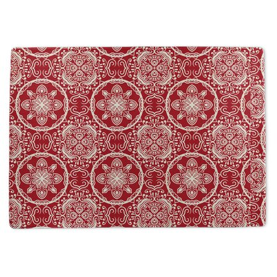 Christmas in Plaid Doormat Rug Size: 5 x 7