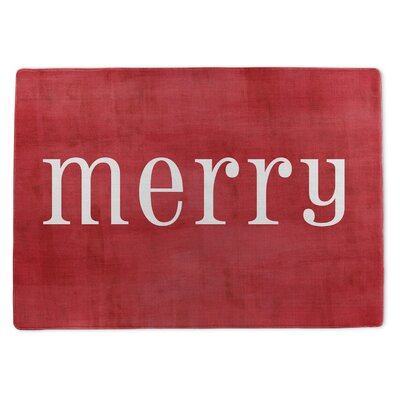 Merry Doormat Rug Size: 5 x 7