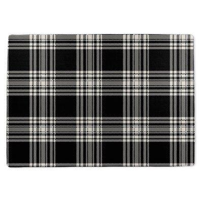 Plaid Doormat Rug Size: 5 x 7