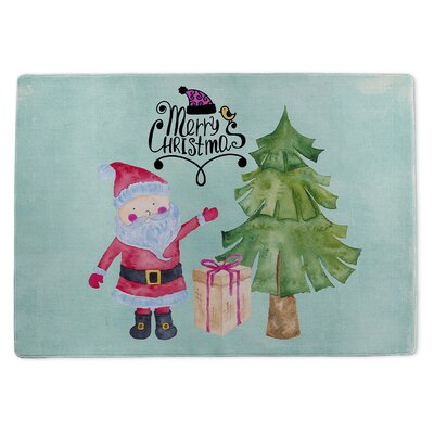 Holiday Ogee Doormat Rug Size: 5 x 7