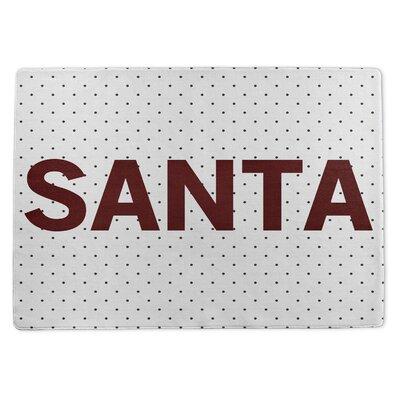 Santa Doormat Rug Size: 3 x 5