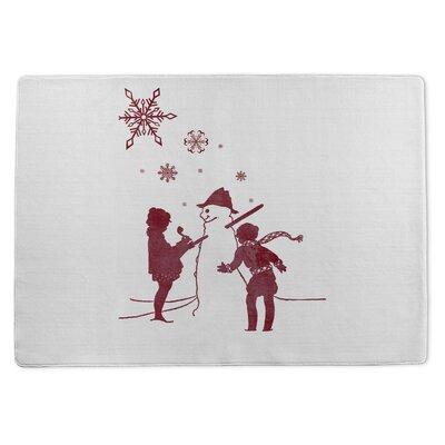 Lets Build a Snowman Doormat Rug Size: 3 x 5