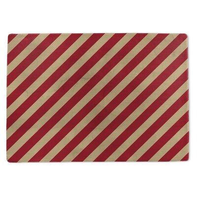 Stripes Doormat Rug Size: 3 x 5