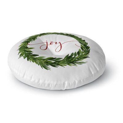 Joy Floor Pillow Size: 26 H x 26 W x 12.5 D