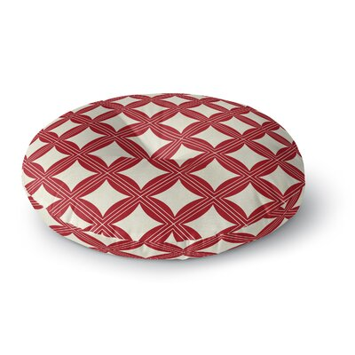 Christmas in Plaid Floor Pillow Size: 23 H x 23 W x 9.5 D