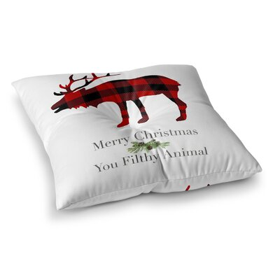 Filthy Animal Floor Pillow Size: 23 H x 23 W x 9.5 D