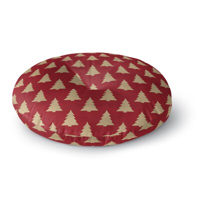 Christmas Tree Floor Pillow Size: 26 H x 26 W x 12.5 D