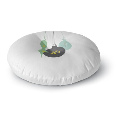 Elegant Ornament Floor Pillow Size: 23 H x 23 W x 9.5 D