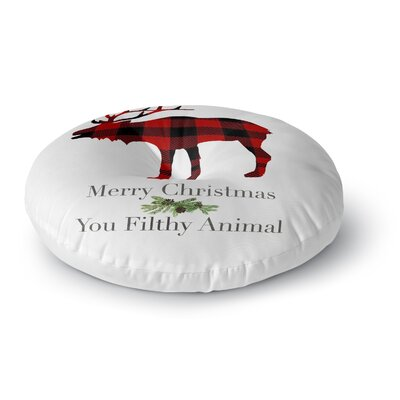 Filthy Animal Floor Pillow Size: 26 H x 26 W x 12.5 D