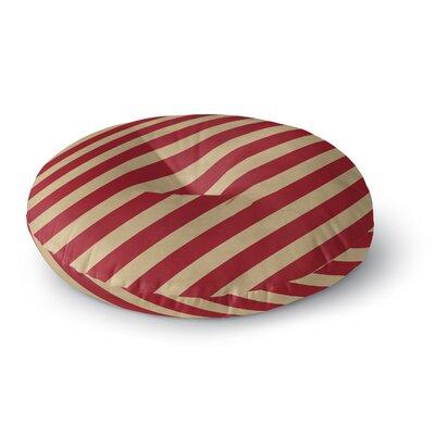 Vanderbilt Round Floor Pillow Size: 23 H x 23 W x 9.5 D