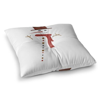 Mr. Snowman Floor Pillow Size: 23 H x 23 W x 9.5 D