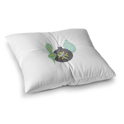 Elegant Ornament Floor Pillow Size: 26 H x 26 W x 12.5 D