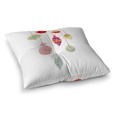 Christmas Bling Floor Pillow Size: 26 H x 26 W x 12.5 D